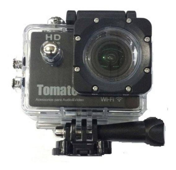 Mini Câmera Esportiva Prova Dágua 4k Wifi Tomate Mt-1090k