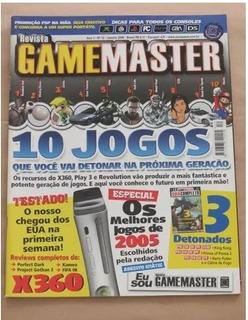 Revista Game Master 12 (janeiro 2006) - X360 Play3 Nintendo