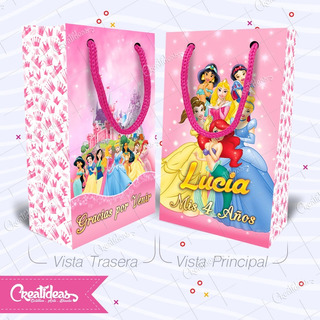 Princesas Principe Bolsita Golosinera Personalizada Pack X30