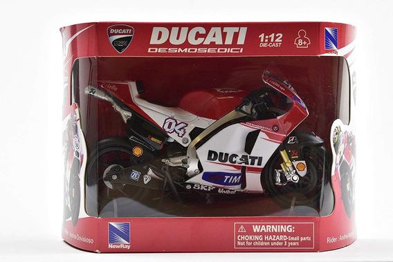 Moto Ducati 1:12 Andrea Dovizioso Coleccion Mi Cielo Azul