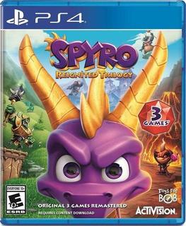 Spyro Reignited Trilogy Ps4 Nuevo Envio Gratis