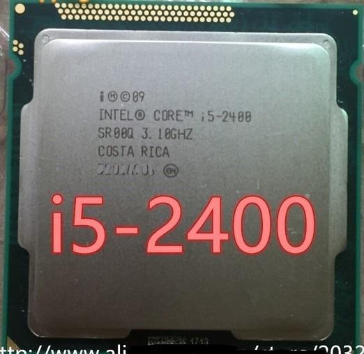 Processador Intel Core I5 2400 1155 Melhor Q 2310 I3 2120 2130 3240 3220