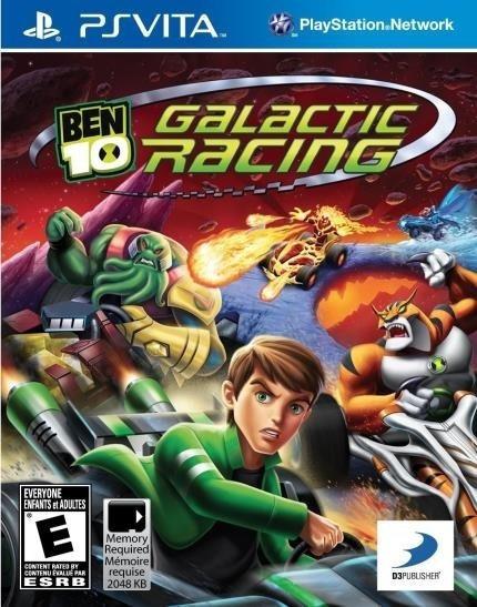 Ben 10 Galactic Racing - Ps Vita Mídia Física