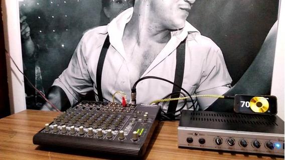 Mixer De Som Mackie 1202 Vlx Pro