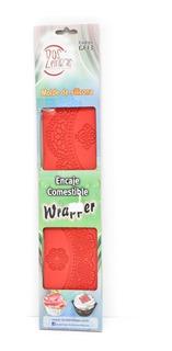 Molde De Silicona P/ Encaje Comestible Pasteleria Wrapper