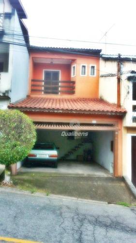 Imagem 1 de 13 de Sobrado À Venda, 148 M² Por R$ 500.000,00 - Vila Emílio - Mauá/sp - So0037