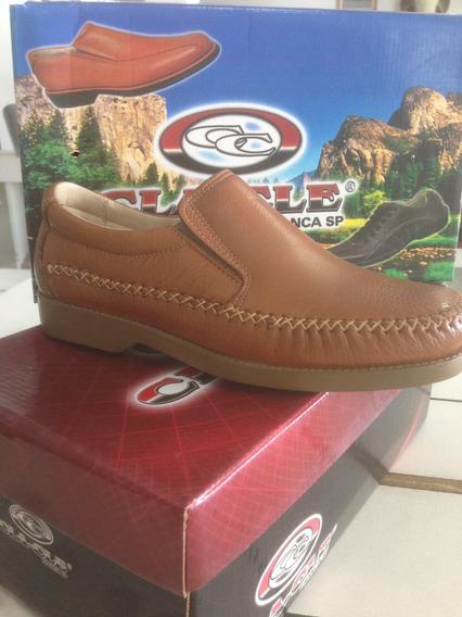 Sapato Sapatilha Mocassim De Pelica Sola Gel