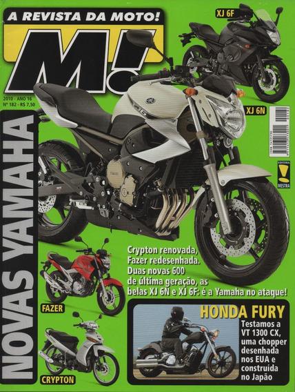 Moto! N°182 Honda Fury Cg Mix Ninja Zx-10r Vulcan 900 Custom