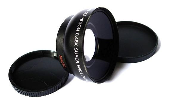 Grande Angular + Macro 55mm Nikon Sony Alpha A200 A300 A500