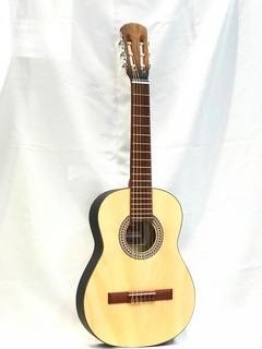Guitarra Criolla Alta Gama Mediana+afinador+funda+puas