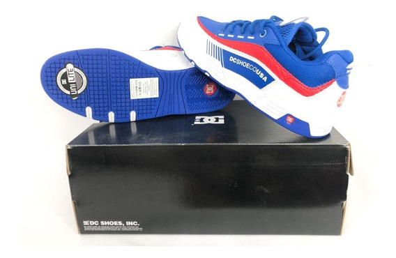 Tênis Dc Shoes Legacy 98 Slim Blue Red Original