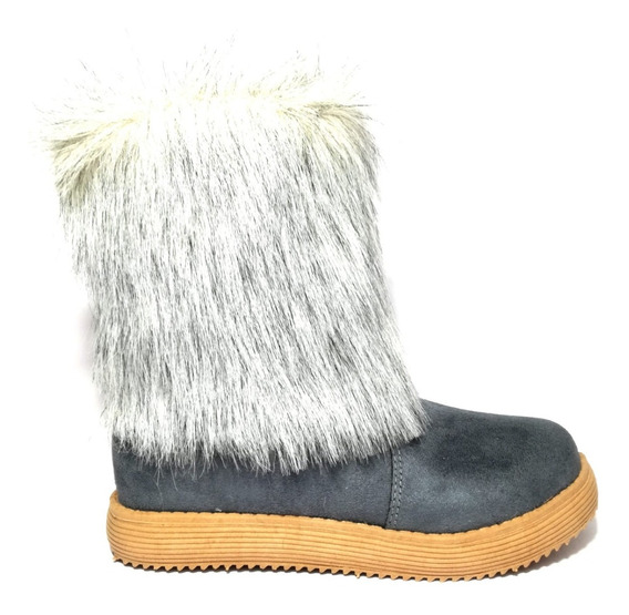 Pantubotas Botas Corderito Bajas Botinetas De Mujer Zapatos