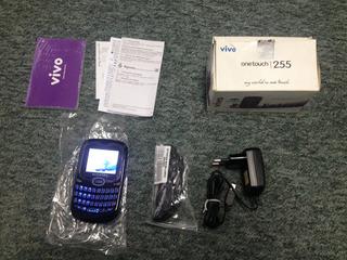 ® Alcatel One Touch 255, Caixa, Carregador, Fone -desbl #5 ®