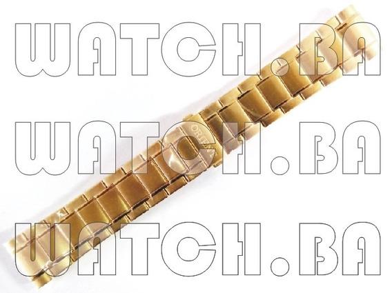 Pulseira Dourada Orient Ggss1009 - Nova, Original!