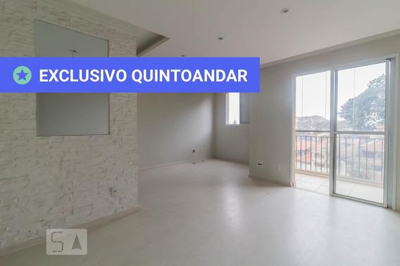 Apartamento No 3º Andar Com 2 Dormitórios E 1 Garagem - Id: 892951539 - 251539