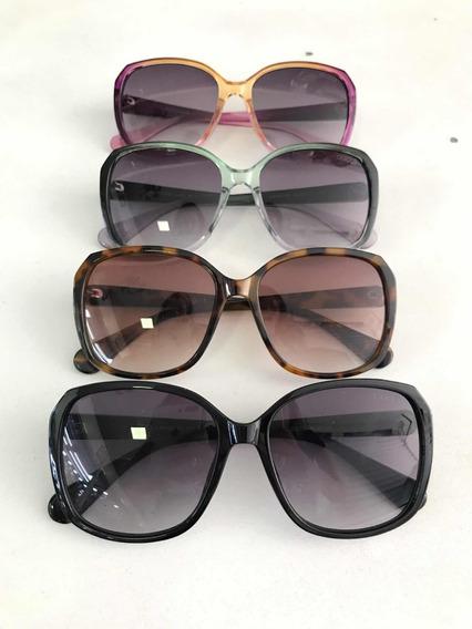 Óculos De Sol Gucci Feminino Retangular