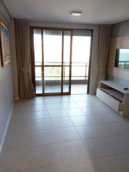 Apartamento Vista Mar, 2 Quartos, Mobiliado