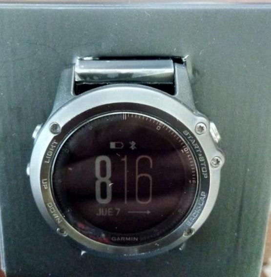 Reloj Garmin Fenix 3 Zafiro Extensible Acero