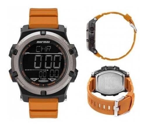 Relógio Mormaii Acqua Pro Mo1192ac/8l Digital Laranja