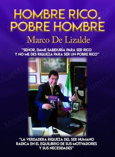 Libro Multinivel Hombre Rico Pobre Hombre Marco De Lizalde