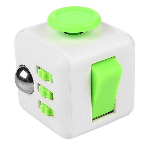 Kit 6 Fidget Cube - Cubo Anti Stress Toy Ansiedade