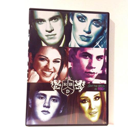 Qué Hay Detrás De Rbd (dvd) Nuevo Original