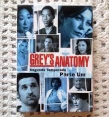 Dvd Greys Anatomy 2ª Temporada Parte Um - Lacrado