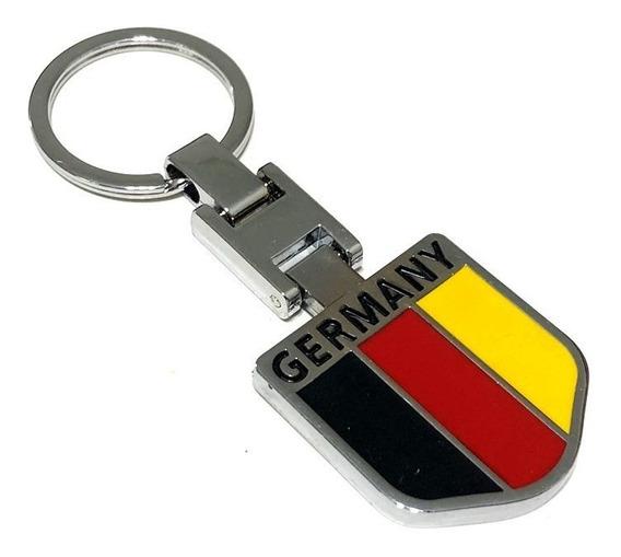 Chaveiro Alemanha Em Metal Vw Golf Jetta Virtus Polo - Top