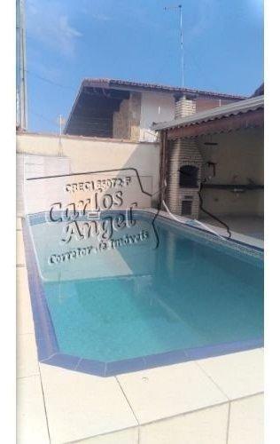 Casa A Venda No Bairro Jardim Imperador Em Praia Grande - - 3262-1