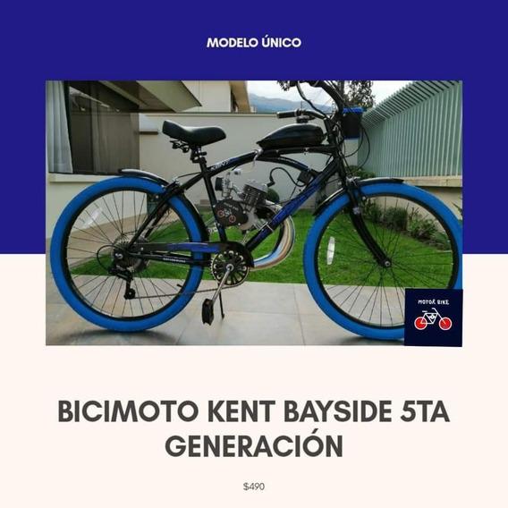 Bicimoto Kent Edición Especial 5ta Generación