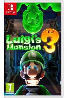 Luigi´s Mansion 3 Nintendo Switch - Nuevo - Sellado