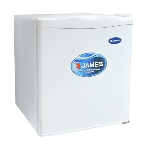 Imagen 1 de 7 de Heladeras Frigobar James J50k 46 Lts Con Congelador Gtia Pcm