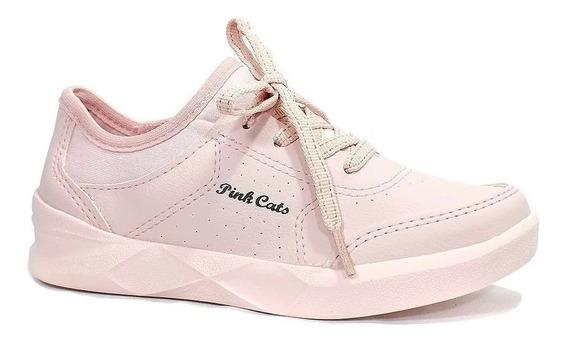Tênis Pink Cats Harvy Rosa V1154