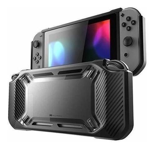 Carcasa Para Nintendo Switch 2017 Resistente Delgado Negro