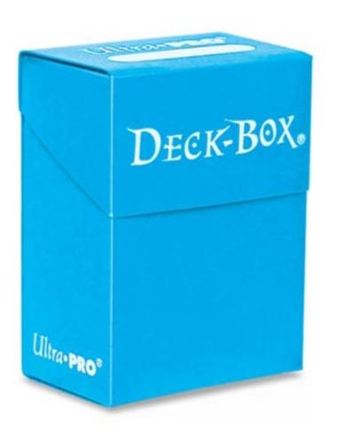 Deck Box Ultra Pro 80 Cards - Cor Azul Claro