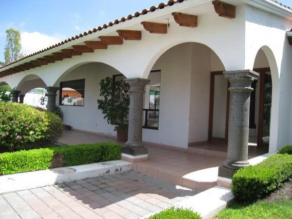 Casa Venta Jurica 4 Rec 4 Baño 6 Est 1 Nivel T-1000m2 C-465m