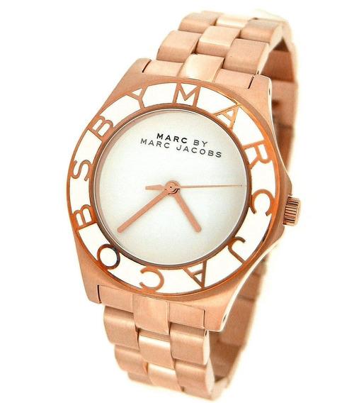 Relógio Marc Jacobs Sport Tom De Ouro Rosa Mbm3075 Feminino