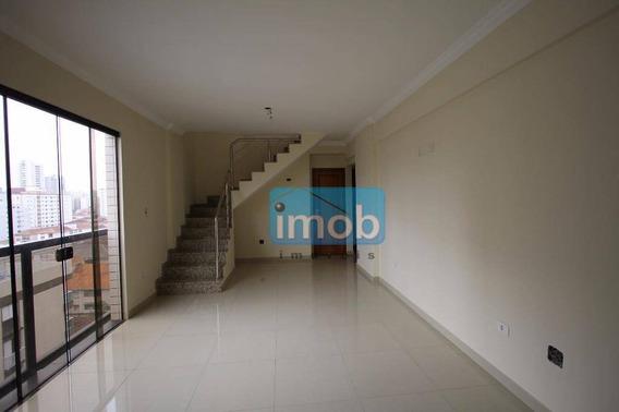 Cobertura Residencial À Venda, Embaré, Santos. - Co0136