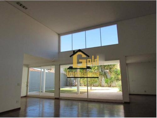 Casa Com 3 Dormitórios Para Alugar, 316 M² Por R$ 12.000/mês - Jardim Sumaré - Ribeirão Preto/sp - Ca0908