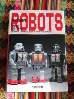Libro Taschen Robots Spaceships Tin Toys Juguetes Hojalata