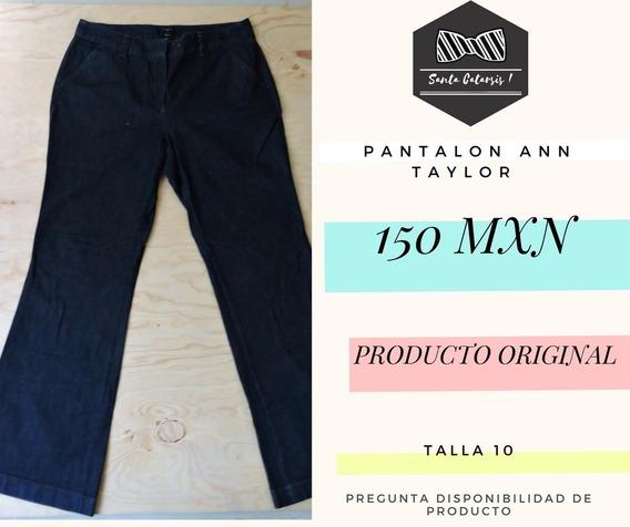 Pantalón Jeans Mujer Marca Ann Taylor Talla 10