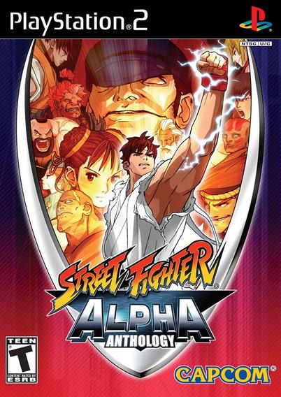 Street Fighter Alpha Anthology Jogo De Ps2