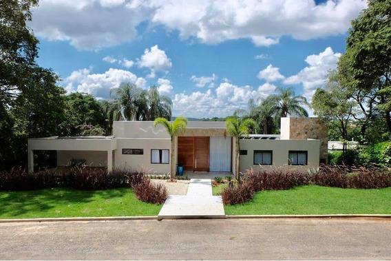 Casa Em Condomínio Com 5 Quartos Para Comprar No Cond. Amendoeiras Em Lagoa Santa/mg - 13369