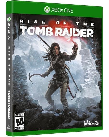 Jogo Rise Of The Tomb Raider Xbox One Semi-novo Mídia Física