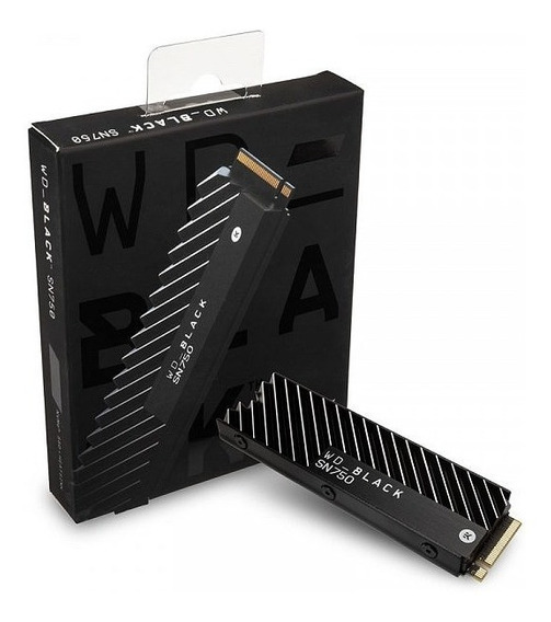 Western Digital Black Sn750 Ssd M.2 2280 500gb Pcie Nvme