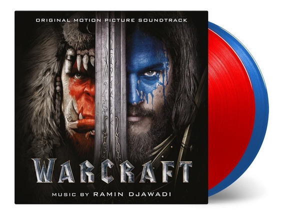 Lp Disco Vinil 2x Blizzard Warcraft Limited Number 497/1000