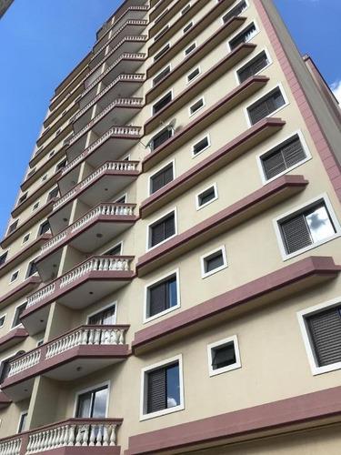 Apartamento No Centro De Suzano Com 3 Dormitórios - Ap0081