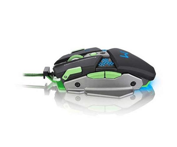 Mouse Multilaser Warrior 9 Botões 4000dpi - Mo249