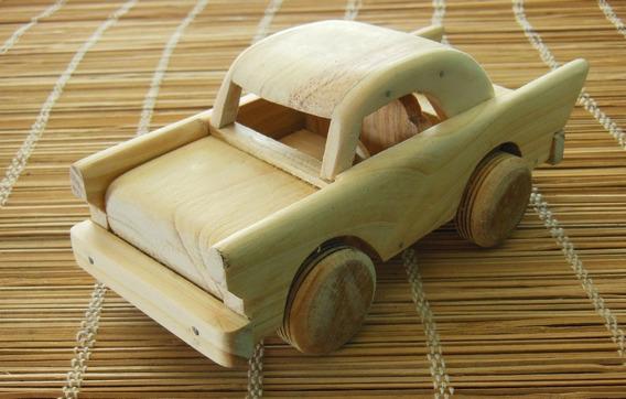 Carros Juguetes En Madera De Pino Rustica Arte Hechos A Mano