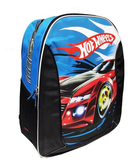 Mochila Hot Wheels Escolar Grande Infantil Sestini